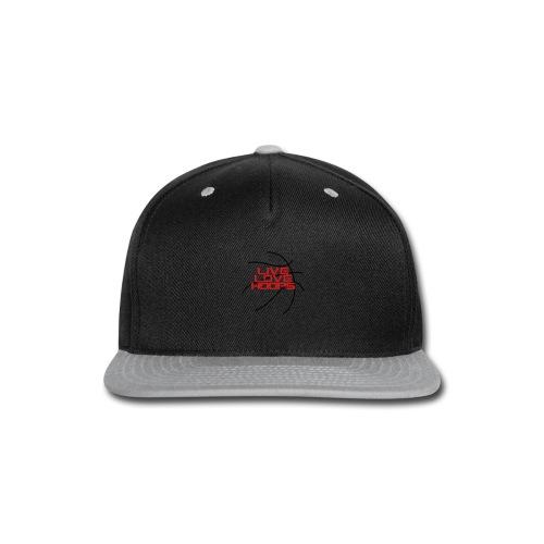 Live Love Hoops Basketball - Snap-back Baseball Cap