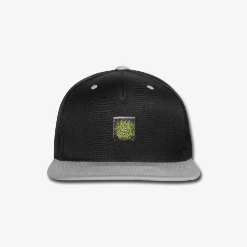Marijuana Bagy - Snap-back Baseball Cap