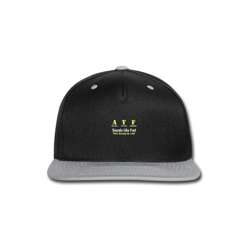 ATF Shirt - Snap-back Baseball Cap