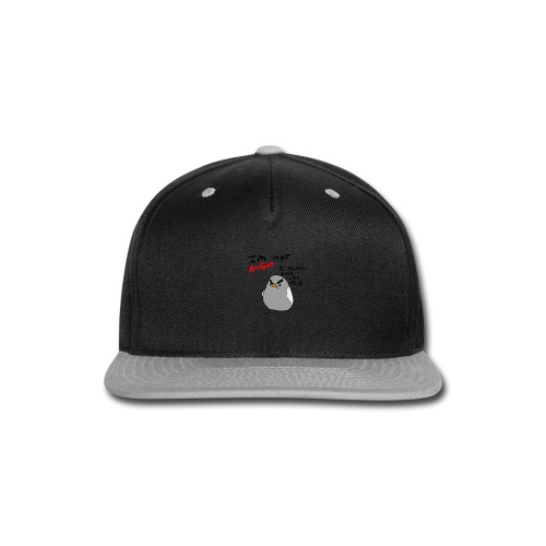 Im not angry - Snap-back Baseball Cap