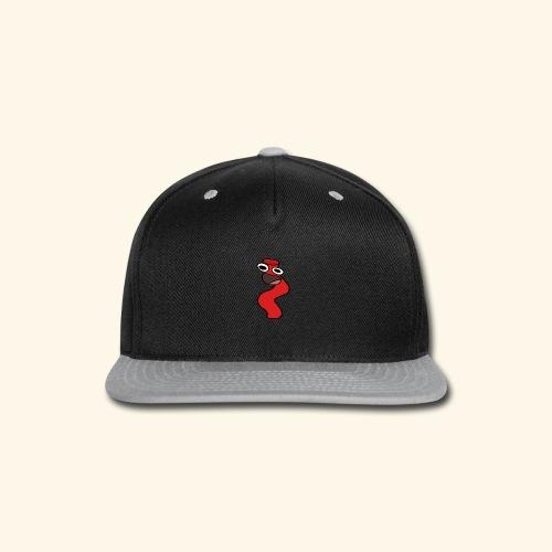 Silly Straw Shirt - Snap-back Baseball Cap