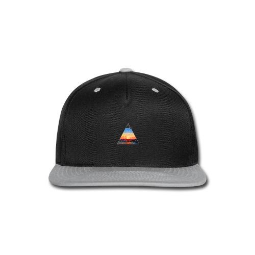 Climber in the sunset - Snap-back Baseball Cap