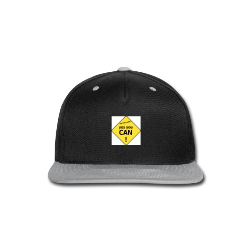 YES YOU CAN! - Snap-back Baseball Cap