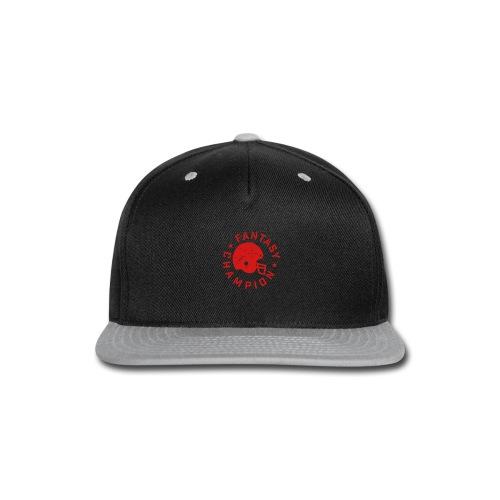 Fantasy Football Champion - Snap-back Baseball Cap