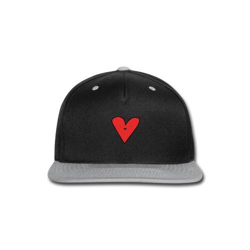 Heart - Snap-back Baseball Cap