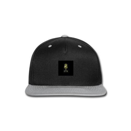 OTB Logo Left hand front - Snap-back Baseball Cap