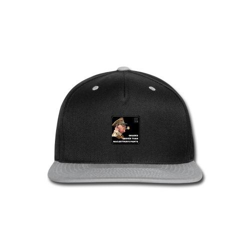 MacArthurs Grades - Snap-back Baseball Cap
