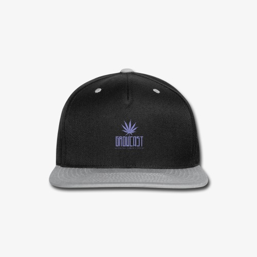 Growcast Purple Logo - Snap-back Baseball Cap