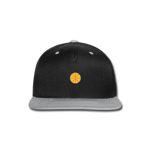 Basketball purple and gold - Snap-back Baseball Cap