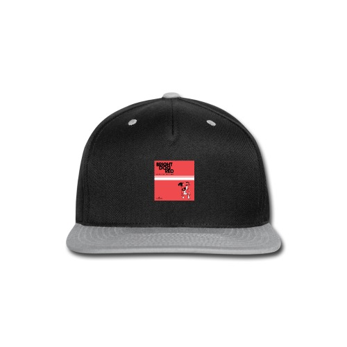 bright dog red album 3000px - Snap-back Baseball Cap