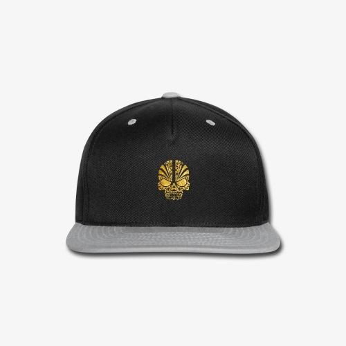 Gold Skull - Snap-back Baseball Cap