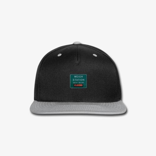 Weigh Station - Snap-back Baseball Cap