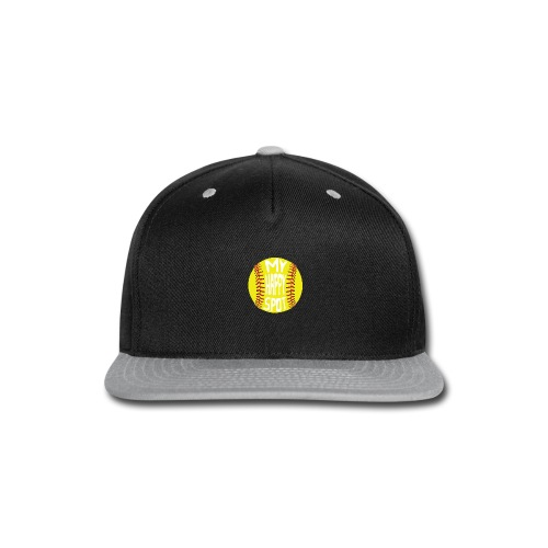 People s Republic of Burlington Softball - Snap-back Baseball Cap