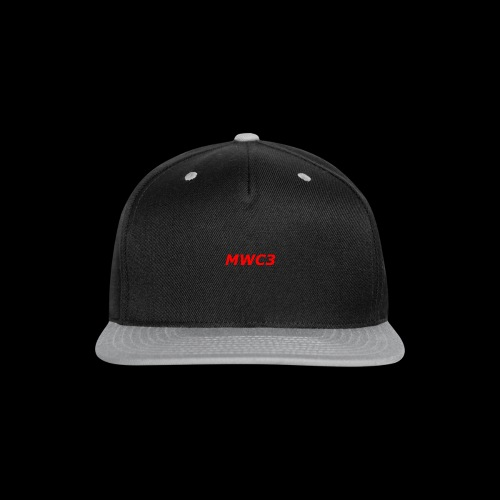 MWC3 T SHIRT - Snap-back Baseball Cap