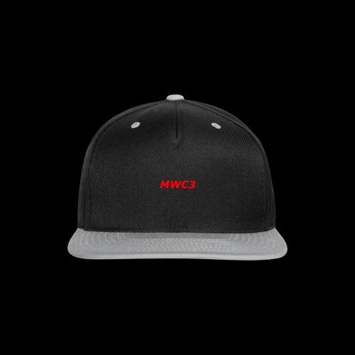 MWC3 T SHIRT - Snap-back Baseball Cap