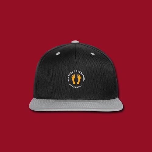 Barefoot Recording Circular Logo - Snap-back Baseball Cap