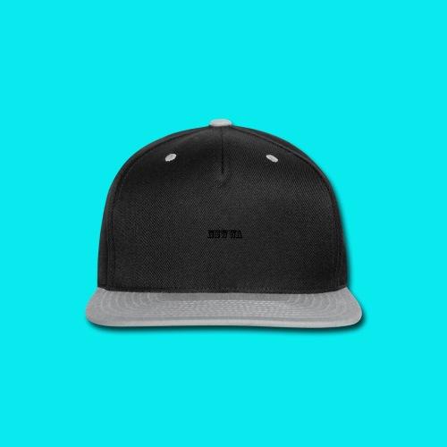 NSWWA BLACK WRITING - Snap-back Baseball Cap