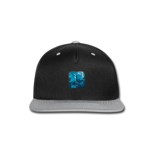 MEL*O*DEE Blue Mermaid Fantasy - Snap-back Baseball Cap