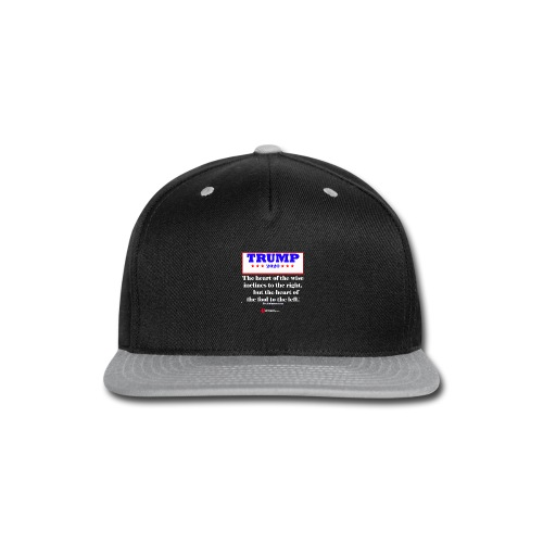 Trump 2020 Eccl 10 2 Inverted - Snap-back Baseball Cap
