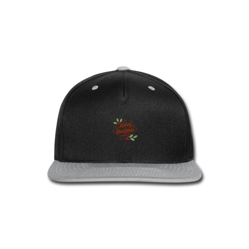 Merry Christmas - Snap-back Baseball Cap