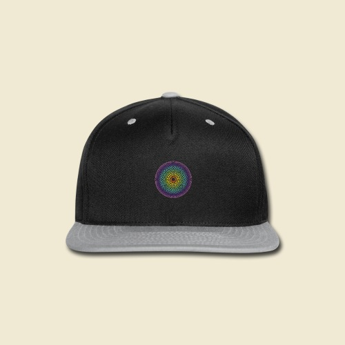 Torus Yantra Hypnotic Eye rainbow - Snap-back Baseball Cap