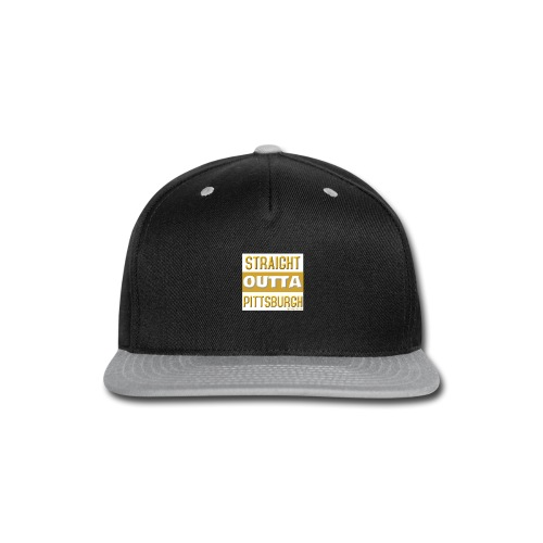 STRAIGHT OUTTA PITTSBURGH GOLD - Snap-back Baseball Cap