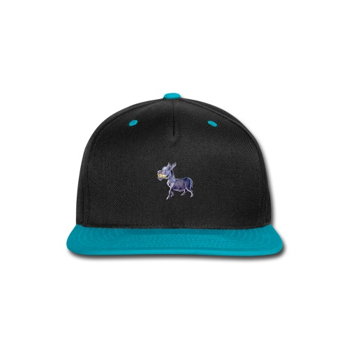 Funny Keep Smiling Donkey - Snap-back Baseball Cap