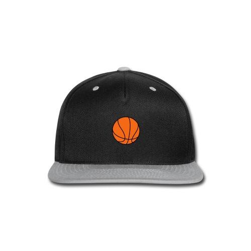 Basketball. Make your own Design - Snap-back Baseball Cap