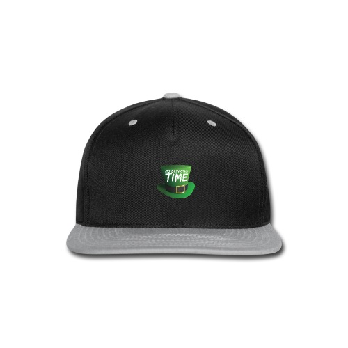 drinking time st patricks day - Snap-back Baseball Cap