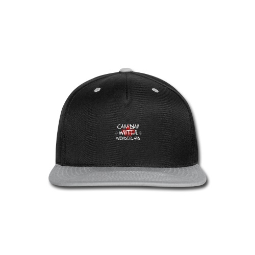 Canadian Winter Wonderland - Snap-back Baseball Cap