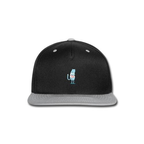 Sociopath Cat - Snap-back Baseball Cap