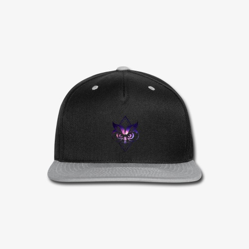 Galaxy Owl Men and Women Cool T-shirt - Snap-back Baseball Cap