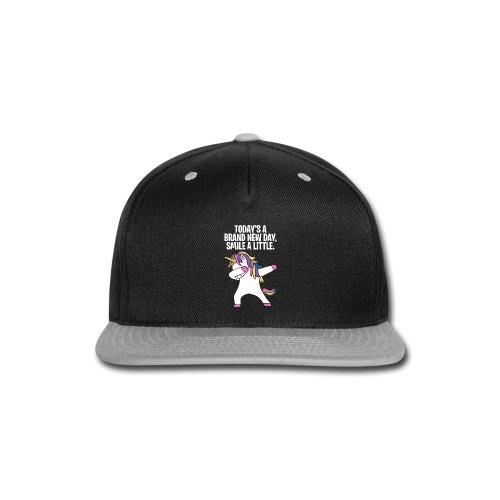 Unicorn DAB T-shirt - Snap-back Baseball Cap