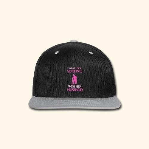 Surf Shirts Womens for Men, Women, Kids, Babies - Snap-back Baseball Cap
