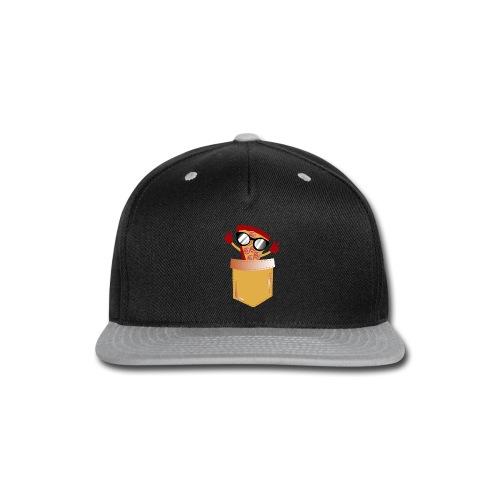 Pizza Lover pocket - Snap-back Baseball Cap