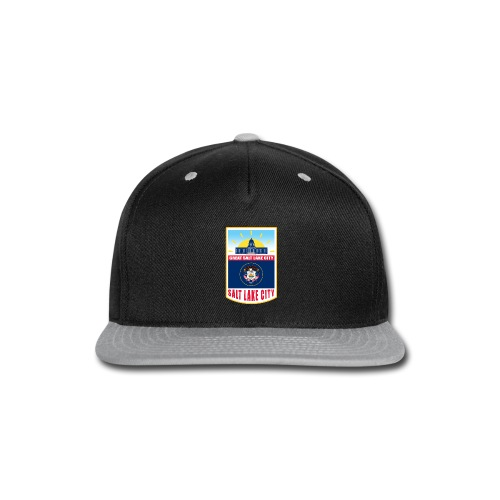 Utah - Salt Lake City - Snap-back Baseball Cap