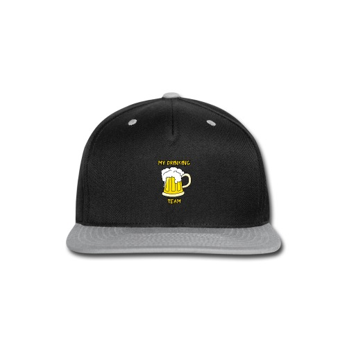 My drinking team disen o para Gorra - Snap-back Baseball Cap