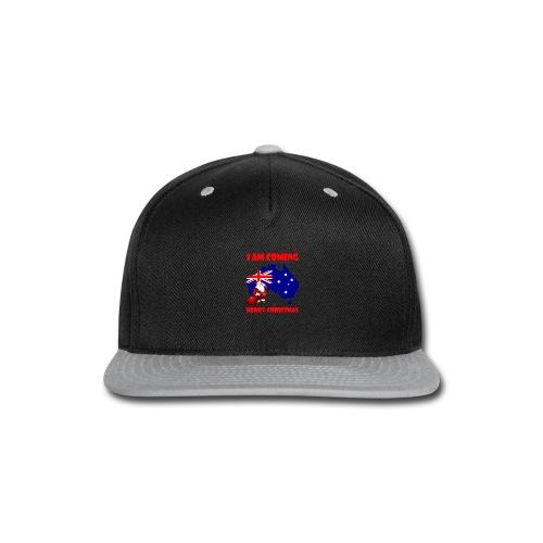 MERRY CHRISTMASh - Snap-back Baseball Cap