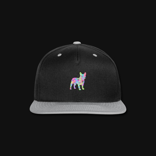 Frenchie love splatter - Snap-back Baseball Cap