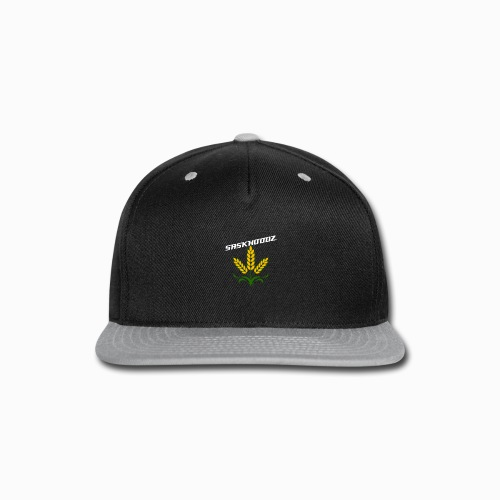 saskhoodz wheat - Snap-back Baseball Cap