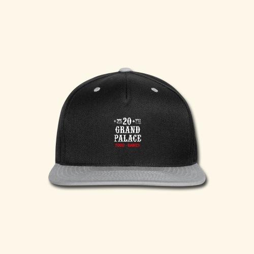 20 Grand Palace (neg.) - Snap-back Baseball Cap