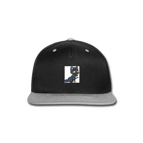 Kieran_Cat_Test - Snap-back Baseball Cap