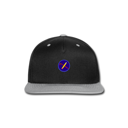 creative playing logo - Snap-back Baseball Cap