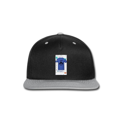 IMG_0341 - Snap-back Baseball Cap