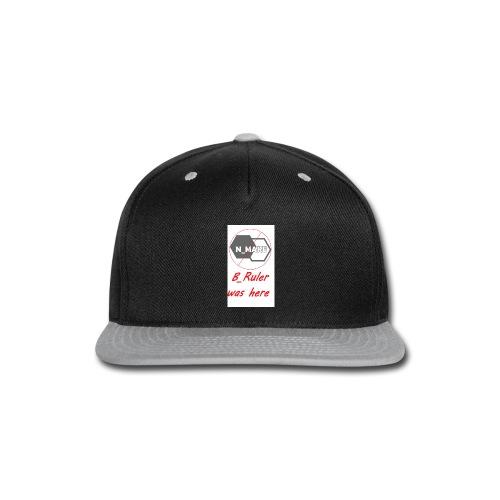 B_Ruler Merch - Snap-back Baseball Cap