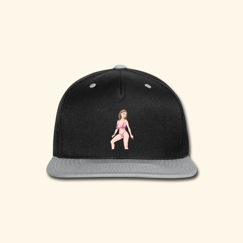 swimsuit pink - Snap-back Baseball Cap