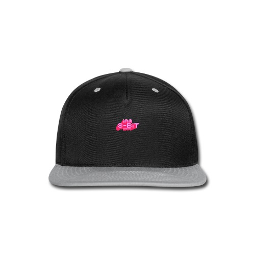 8-bit-flyer - Snap-back Baseball Cap