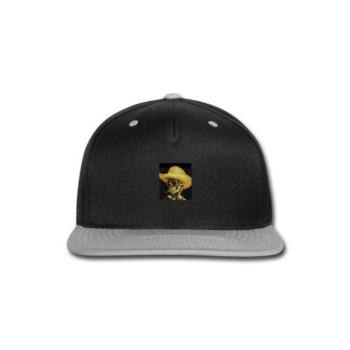 smoking dead - Snap-back Baseball Cap