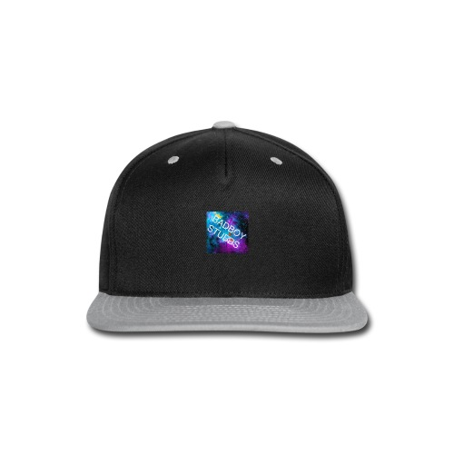 Buttons and Badges - Snap-back Baseball Cap