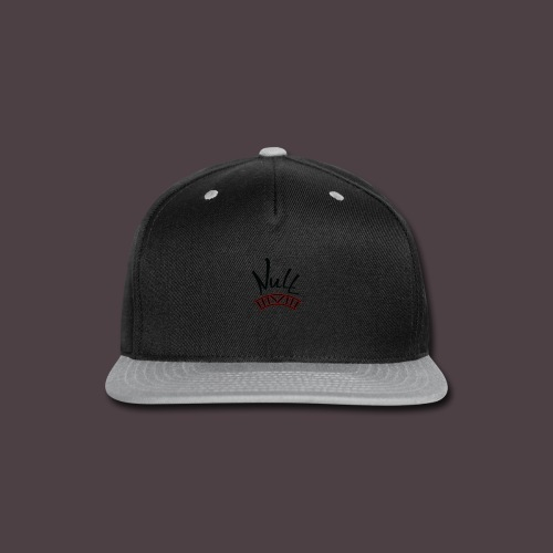 Null Logo - Snap-back Baseball Cap